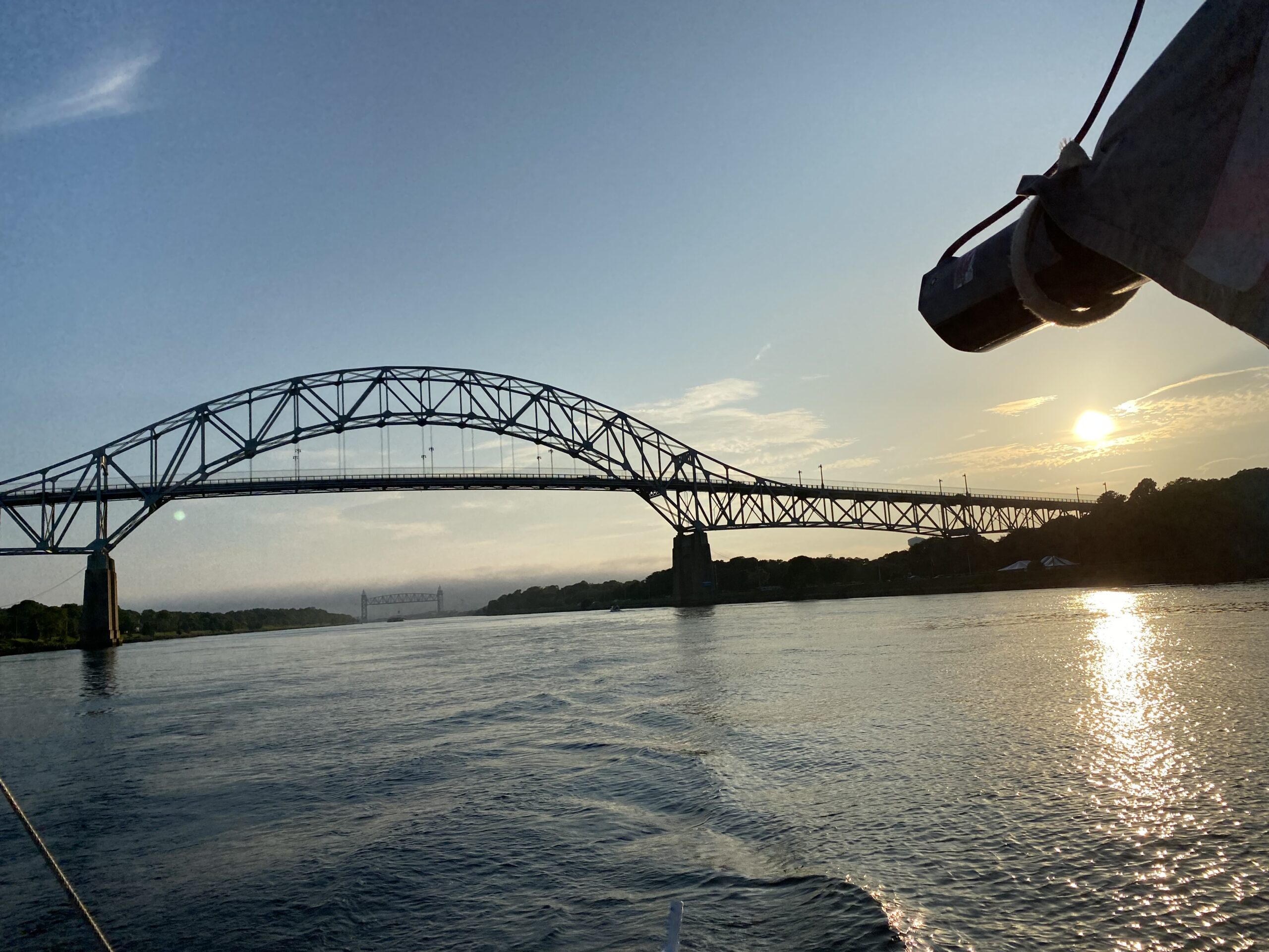 Transiting the Cape Cod Canal