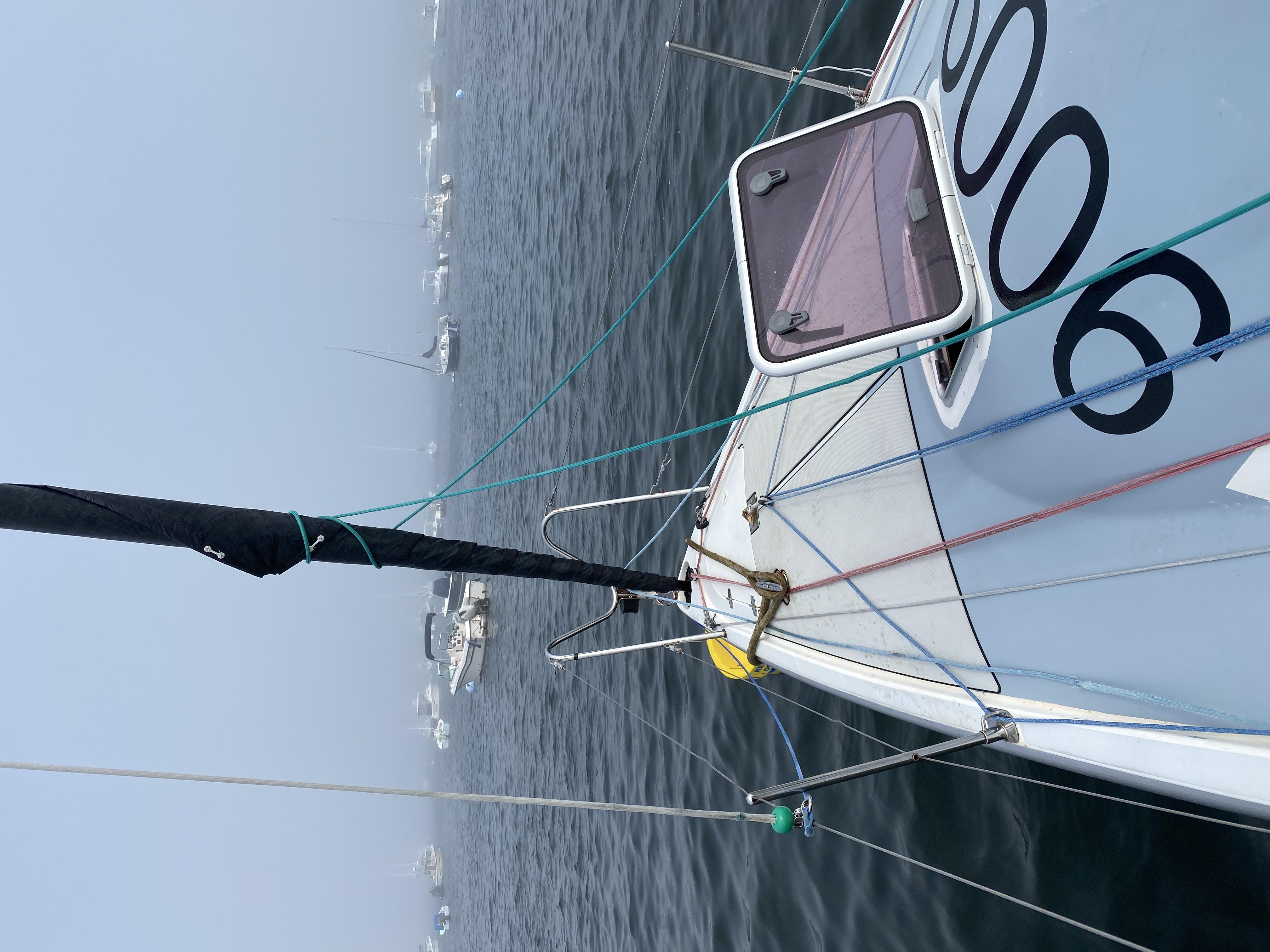 Fog, Fog and more Fog – But we did sail